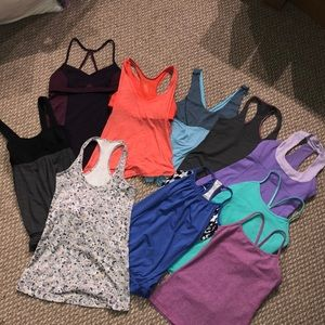 Lululemon bundle,(10 Tops) Size 4, Mint Cond!
